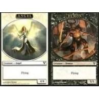 Token Magic Magic the Gathering Token/Jeton - Avacyn Ressucitée - Double : Ange / Demon