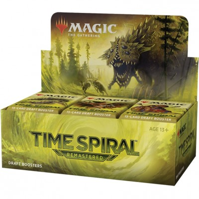 Boite de Boosters Magic the Gathering Time Spiral Remastered - 36 Boosters de Draft