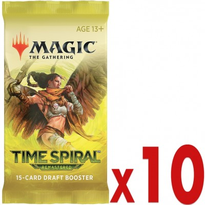 Booster Magic the Gathering Time Spiral Remastered - Booster de Draft - Lot de 10