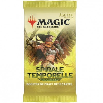 Booster Magic the Gathering Spirale Temporelle Remastered - Booster de Draft