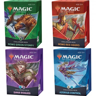 Deck Magic the Gathering Challenger 2021 - Lot de 4 decks différents