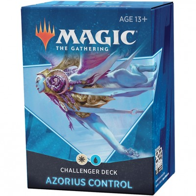 Deck Magic the Gathering Challenger 2021 - Azorius Control - Blanc / Bleu