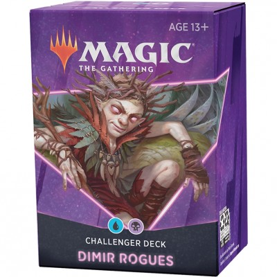 Deck Magic the Gathering Challenger 2021 - Dimir Rogues - Bleu / Noir