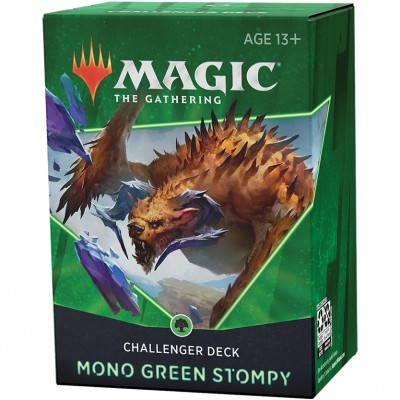 Deck Magic the Gathering Challenger 2021 - Mono Green Stompy - Vert