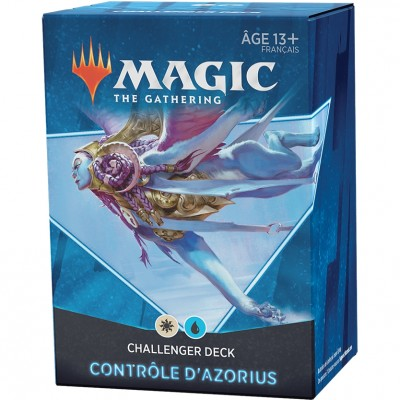 Deck Magic the Gathering Challenger 2021 - Contrôle d'Azorius - Blanc / Bleu