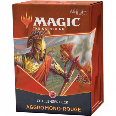 Deck Magic the Gathering Challenger 2021 - Mono Aggro mono-rouge