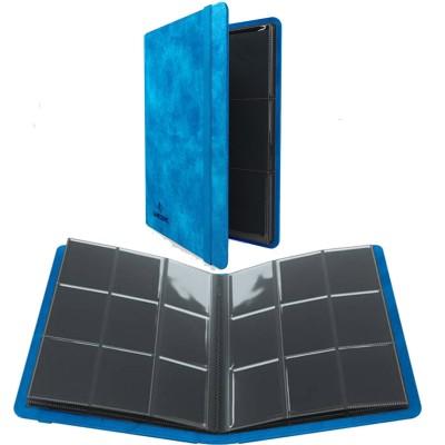 Portfolio  A4  Album PRIME - 20 pages de 9 cases (360 cartes recto-verso) - Bleu