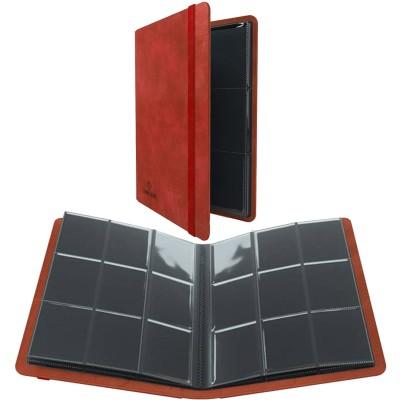 Portfolio  A4  Album PRIME - 20 pages de 9 cases (360 cartes recto-verso) - Rouge