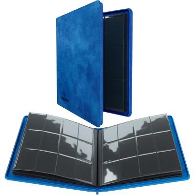 Portfolio  Album ZIP - 20 pages de 12 cases (480 cartes recto-verso) - Bleu
