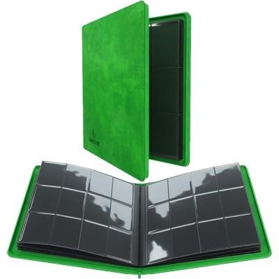 Portfolio  Album ZIP - 20 pages de 12 cases (480 cartes recto-verso) - Vert