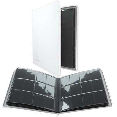 Portfolio  Album ZIP - 20 pages de 12 cases (480 cartes recto-verso) - Blanc
