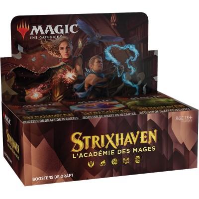 Boite de Boosters Magic the Gathering Strixhaven : l'Académie des Mages - 36 Boosters de Draft