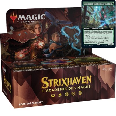 Boite de Boosters Magic the Gathering Strixhaven : l'Académie des Mages - 36 Boosters de Draft + Carte Buy a Box