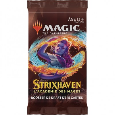 Booster Magic the Gathering Strixhaven : l'Académie des Mages - Booster de draft