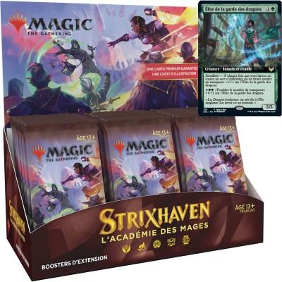Boite de Boosters Magic the Gathering Strixhaven : l'Académie des Mages - 30 Boosters d'Extension + Carte Buy a Box