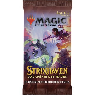 Booster Magic the Gathering Strixhaven : l'Académie des Mages - Booster d'Extension