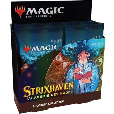 Boite de Boosters Strixhaven : l'Académie des Mages - 12 Boosters Collector