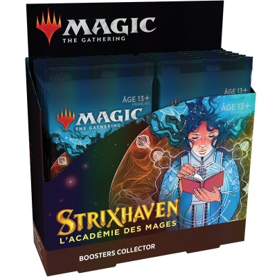 Boite de Boosters Magic the Gathering Strixhaven : l'Académie des Mages - 12 Boosters Collector