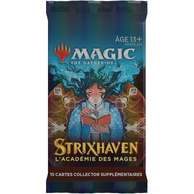 Booster Magic the Gathering Strixhaven : l'Académie des Mages - Booster Collector