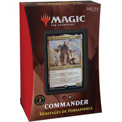 Deck Magic the Gathering Strixhaven : l'Académie des Mages - Commander - Héritages de Forsapience