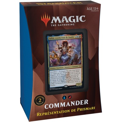 Deck Magic the Gathering Strixhaven : l'Académie des Mages - Commander - Représentation de Prismari