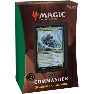 Deck Magic the Gathering Strixhaven : l'Académie des Mages - Commander - Quandrix Quantique