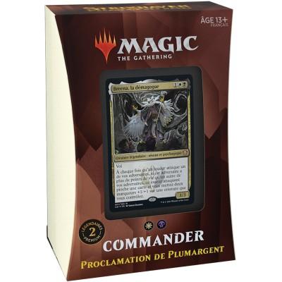 Deck Magic the Gathering Strixhaven : l'Académie des Mages - Commander - Proclamation de Plumargent