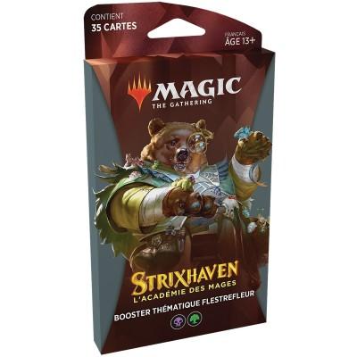 Booster Magic the Gathering Strixhaven : l'Académie des Mages - Booster Thématique Flestrefleur Noir / Vert