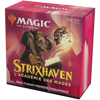 Booster Magic the Gathering Strixhaven : l'Académie des Mages - Pack d'Avant Première Forsapience