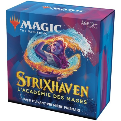 Booster Magic the Gathering Strixhaven : l'Académie des Mages - Pack d'Avant Première Prismari