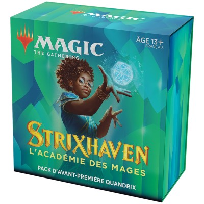 Booster Magic the Gathering Strixhaven : l'Académie des Mages - Pack d'Avant Première Quandrix