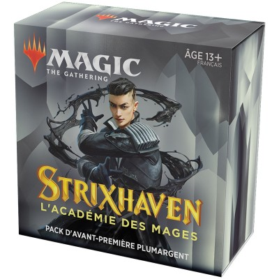 Booster Magic the Gathering Strixhaven : l'Académie des Mages - Pack d'Avant Première Plumargent