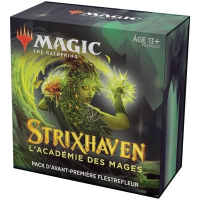Booster Magic the Gathering Strixhaven : l'Académie des Mages - Pack d'Avant Première Flestrefleur