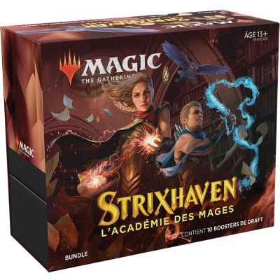 Coffret Magic the Gathering Strixhaven : l'Académie des Mages - Bundle