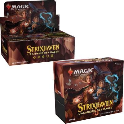 Offres Spéciales Magic the Gathering Strixhaven : l'Académie des Mages - Small Pack : Boite VF + Bundle VF