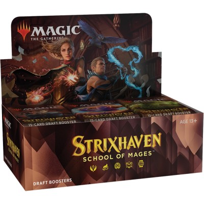 Boite de Boosters Magic the Gathering Strixhaven: School of Mages - 36 Draft Boosters