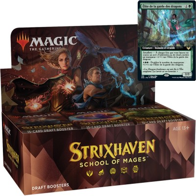 Boite de Boosters Strixhaven: School of Mages - 36 Draft Boosters + Carte Buy a Box