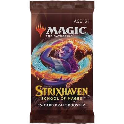Booster Magic the Gathering Strixhaven: School of Mages - Draft Booster
