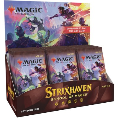 Boite de Boosters Magic the Gathering Strixhaven School of Mages - 30 Set Boosters