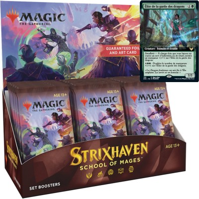 Boite de Boosters Magic the Gathering Strixhaven: School of Mages - 30 Set Boosters + Carte Buy a Box