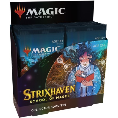 Boite de Boosters Magic the Gathering Strixhaven School of Mages - 12 Collector Boosters