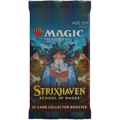 Booster Magic the Gathering Strixhaven: School of Mages - Collector Booster