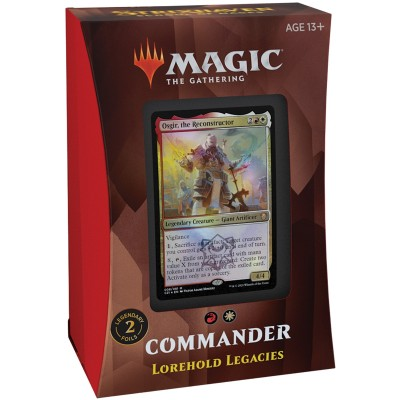 Deck Magic the Gathering Strixhaven School of Mages - Commander - Lorehold Legacies