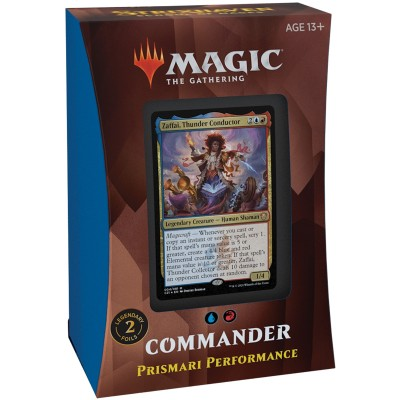 Deck Magic the Gathering Strixhaven School of Mages - Commander - Prismari Performance