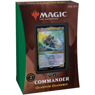 Deck Magic the Gathering Strixhaven School of Mages - Commander - Quantum Quandrix
