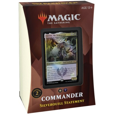 Deck Magic the Gathering Strixhaven School of Mages - Commander - Silverquill Statement