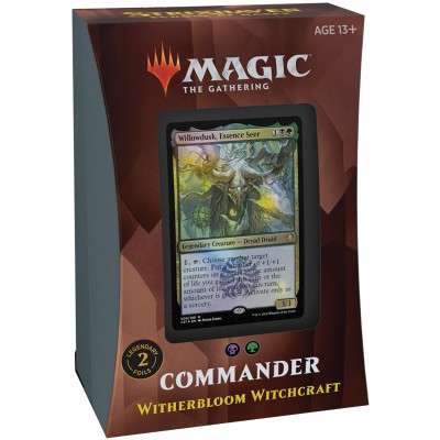 Deck Magic the Gathering Strixhaven School of Mages - Commander - Witherbloom Witchcraft