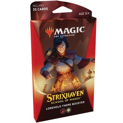 Booster Magic the Gathering Strixhaven School of Mages - Theme Booster Lorehold - Rouge / Blanc
