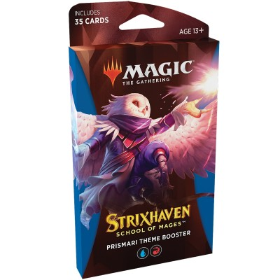 Booster Strixhaven School of Mages - Theme Booster Prismari - Bleu / Rouge