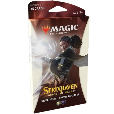Booster Magic the Gathering Strixhaven School of Mages - Theme Booster Silverquill - Blanc / Noir